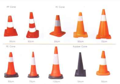 Safety Products Reflectibe Fabrics Traffic Cones